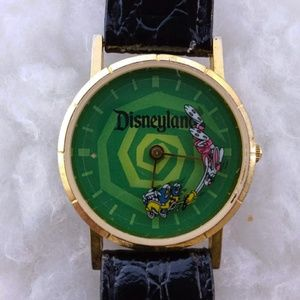 Vintage Disneyland Roger Rabbit Green Watch